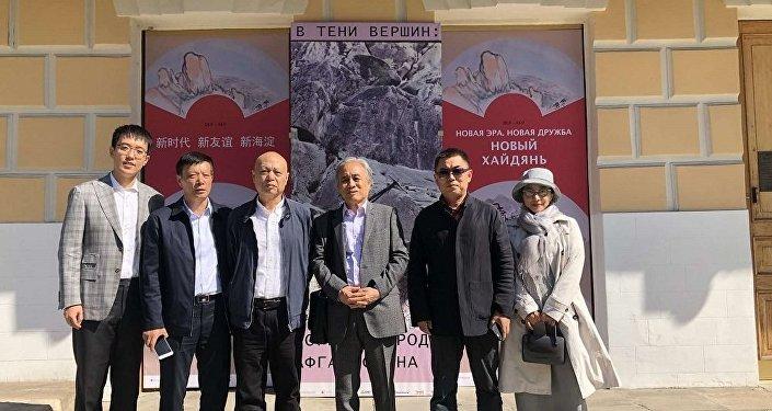 北京艺术家书画展在莫斯科开幕