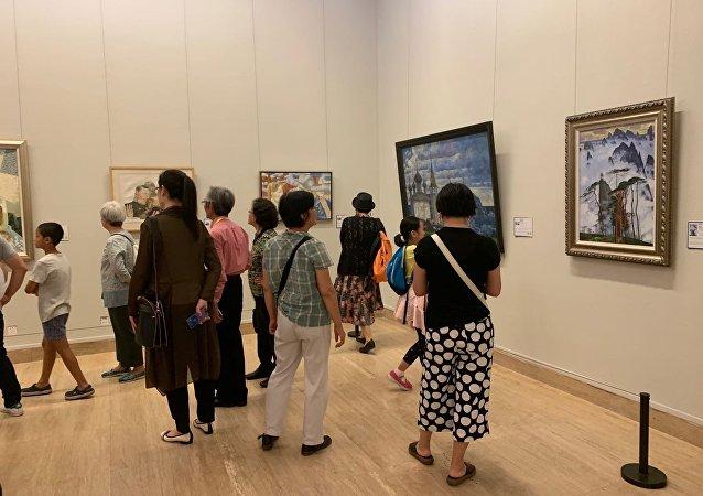 上合组织成员国的艺术家亮相北京国际美术双年展