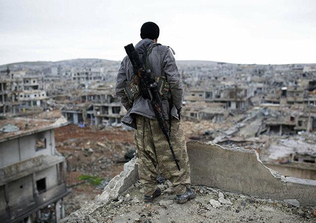 土耳其外长:叙利亚库尔德武装开始撤离安全区