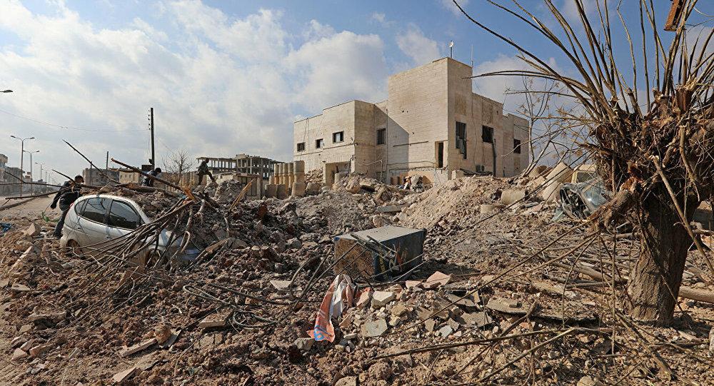 叙利亚军队在伊德利卜省的山洞内发现大型恐怖分子基地