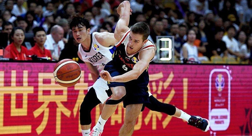 俄罗斯队篮球世界杯轻取韩国队斩获两连胜