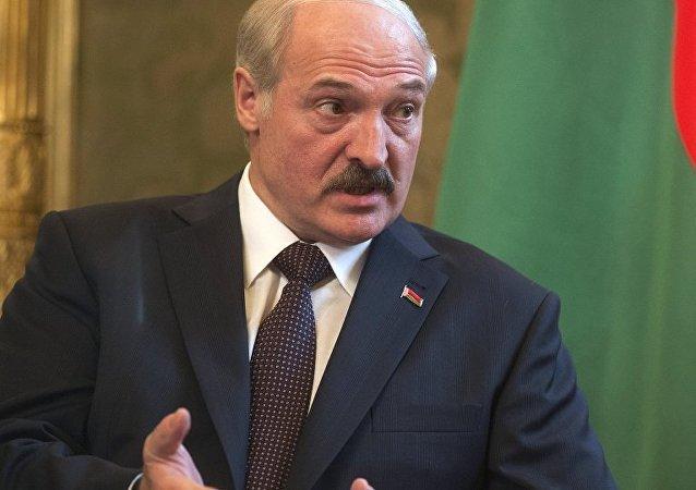 白俄罗斯领导人卢卡申科