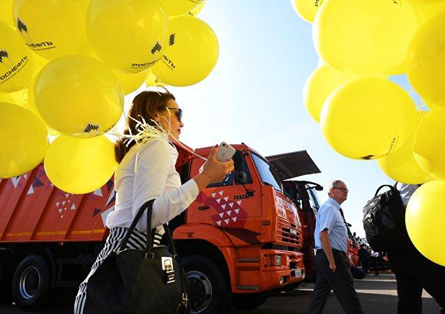 莫斯科国际商用车展吸引40多家中国企业参展