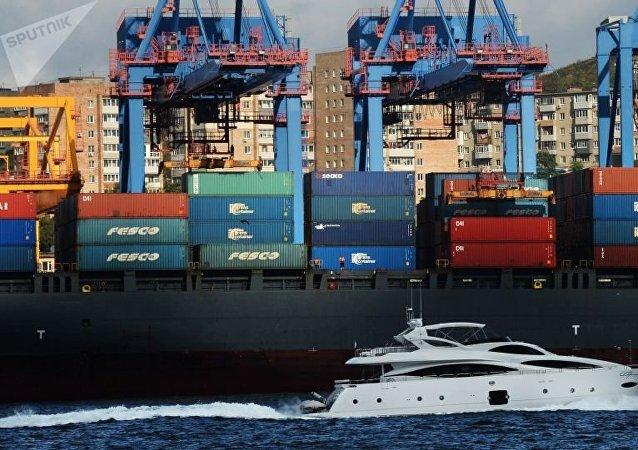 俄远东海洋运输集团开辟连通中国的新线路