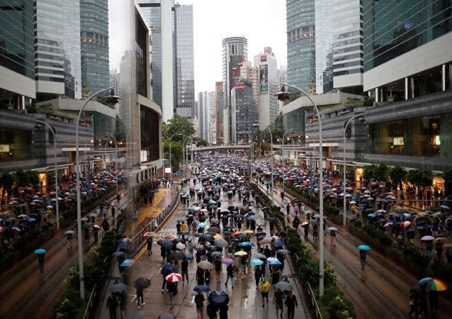 香港9-11月失业率升至3.2%