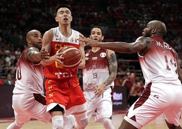 中国男篮负于委内瑞拉队无缘2019篮球世界杯16强