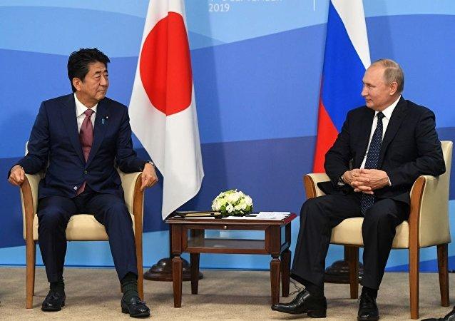 普京:俄罗斯欢迎与日本对话 这有助于双边关系发展