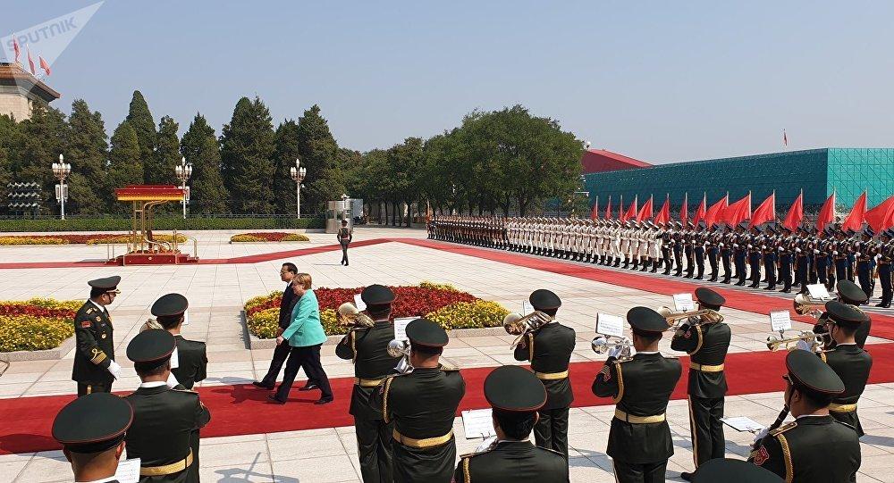 Визит Меркель в Китай