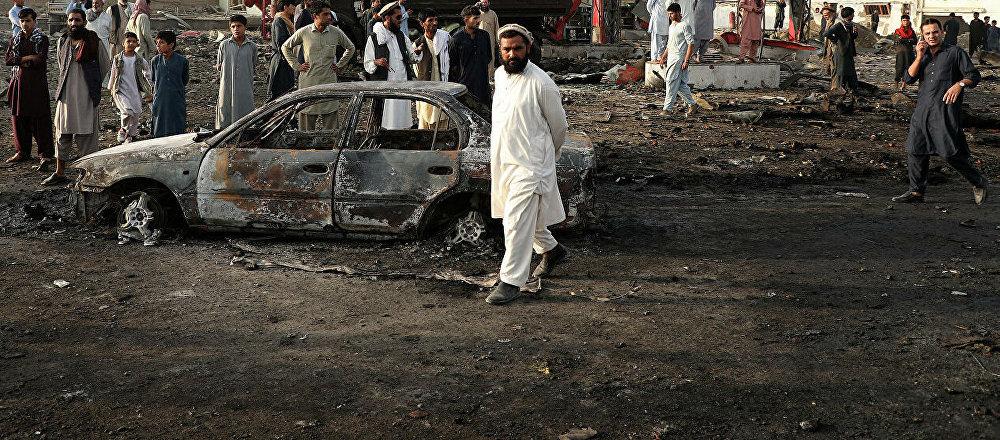 媒体:喀布尔连环爆炸事件已致15人死亡