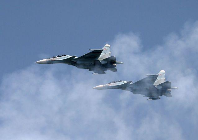俄战机近一周五次飞抵边界拦截外国战机