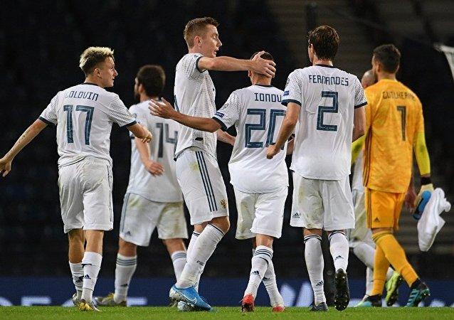 战胜苏格兰队将提升俄罗斯国家足球队在欧锦赛预选赛中的士气