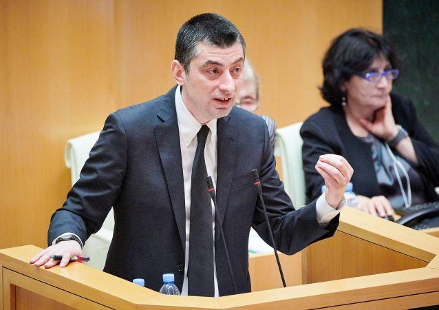 格鲁吉亚总理乔治•加哈里亚