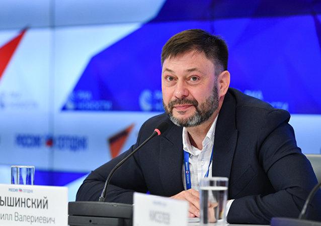"""""""俄新社乌克兰""""网站负责人在获释后感谢普京的关心"""