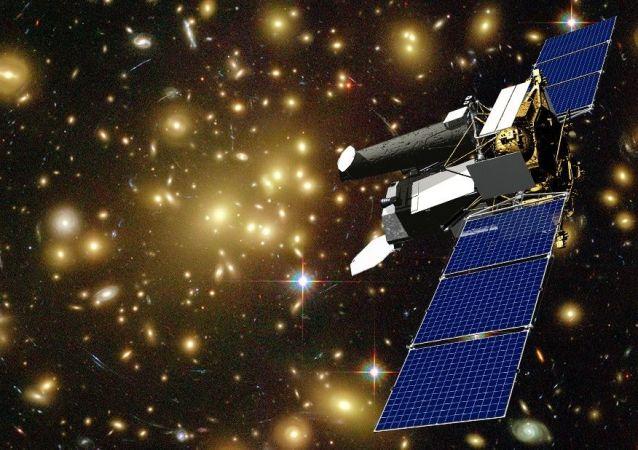 """""""'光谱-RG'太空天文台卫星"""