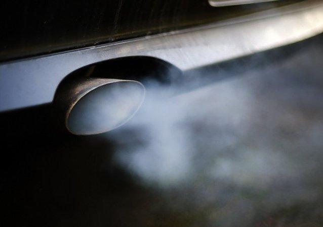 绿色和平组织公布大气污染物排放量最高的车企排名