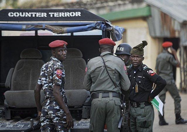 尼日利亚警员