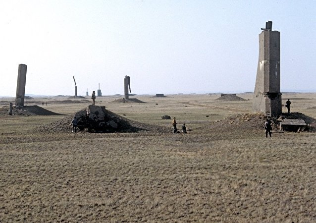 塞米巴拉金斯克核靶场(资料图片)