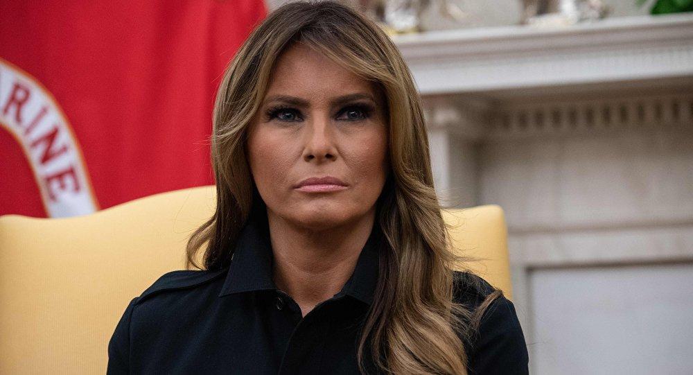 美国总统夫人梅拉尼娅∙特朗普
