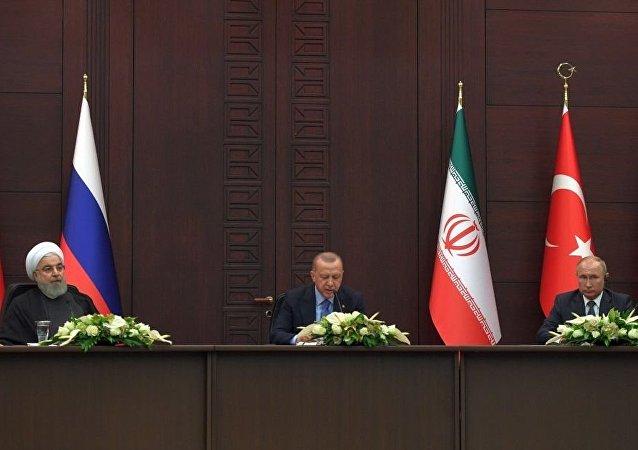 俄伊土三国商定在叙利亚问题上加强协调