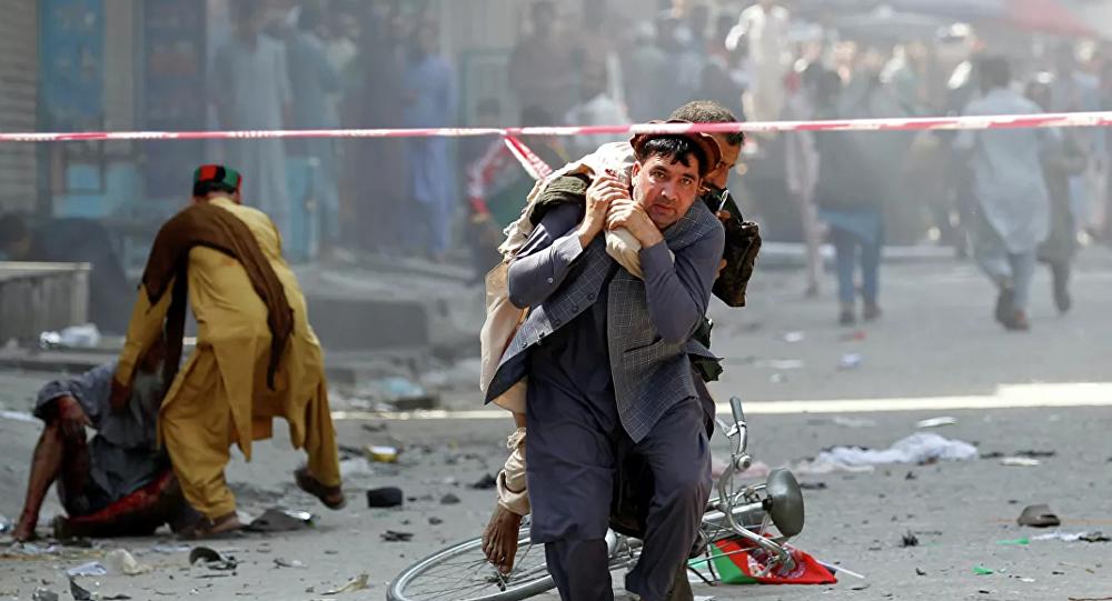 阿富汗总统演讲场地附近发生爆炸 至少24人死亡