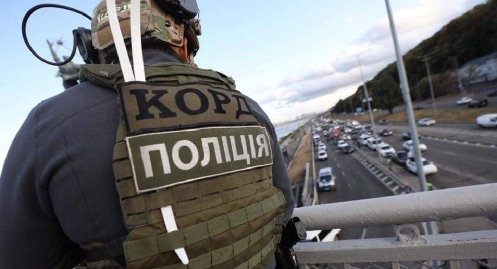 基辅一名威胁要炸毁桥梁的男子开枪