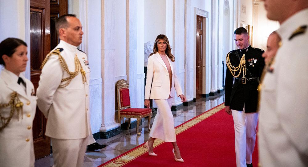 美国第一夫人梅拉尼娅重新装修白宫