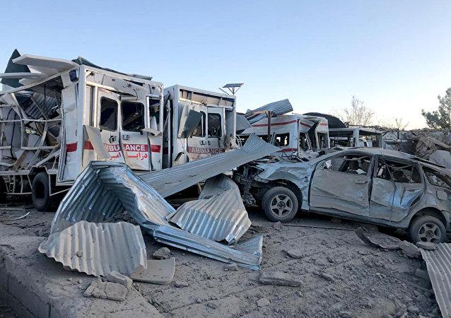 媒体:阿富汗两辆汽车触雷致10名平民死亡