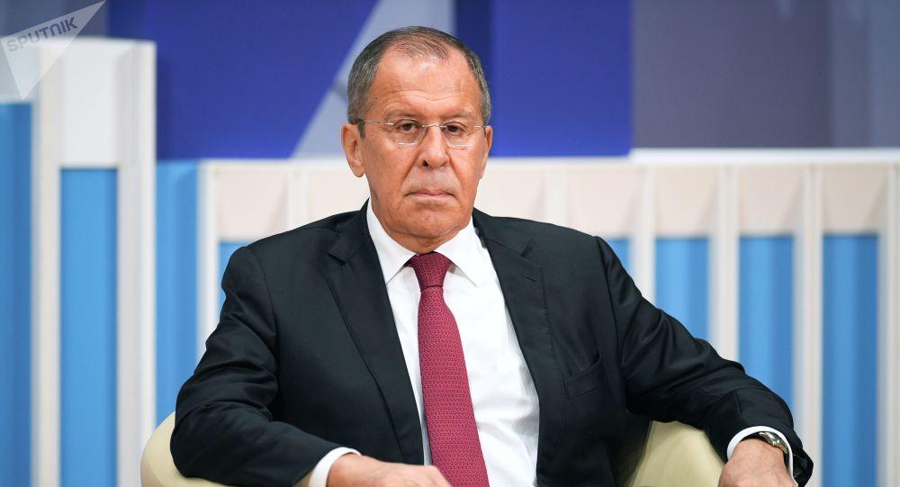 俄外长:美国企图离间莫斯科与北京的关系