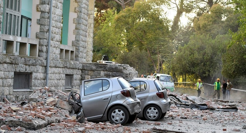 阿尔巴尼亚一系列地震造成的受伤人数上升到68人