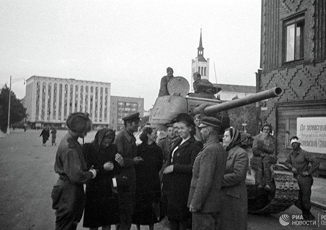 俄国防部公布解密文件以庆祝拉脱维亚解放75周年