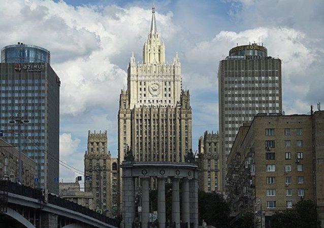 俄方因德国决定驱逐两名俄驻柏林使馆工作人员向德驻俄大使表示抗议