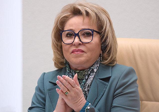 马特维延科第三次任俄联邦委员会主席
