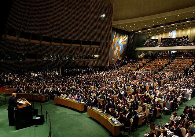 联合国大会通过俄方提出的有关加强军控体系的决议