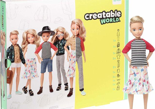 美国发布性别中立的芭比娃娃