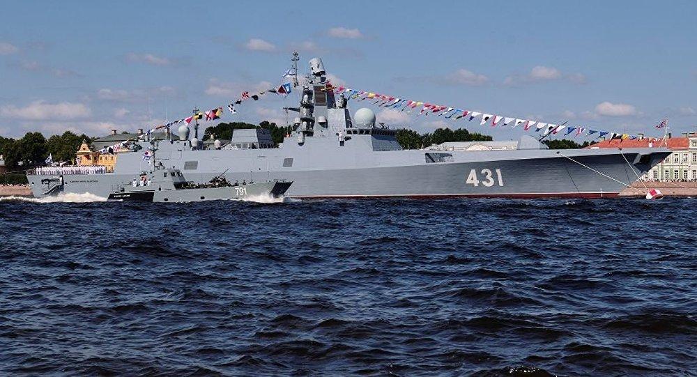 俄罗斯海军将在环球远航过程中更新南极洲海图