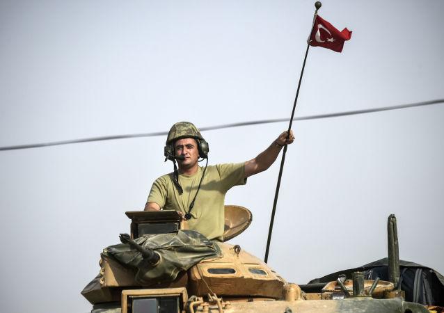 土耳其军人再叙利亚