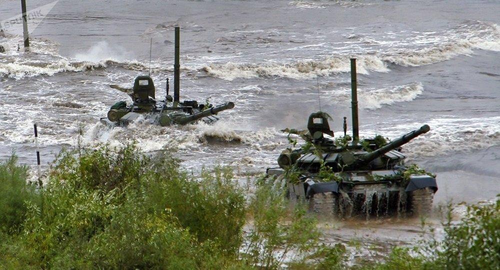 坦克如何在水下行驶