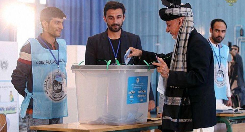 阿富汗总统选举