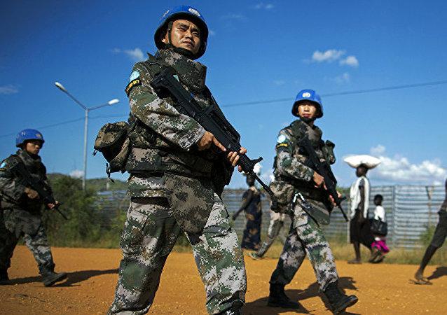 中国维和人员