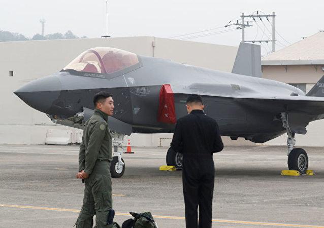 韩国举行国军日庆祝活动 首次展示F-35A战机