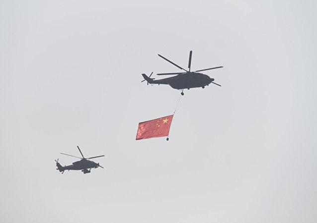 媒体:中国自主研发军用无人直升机 打破国外垄断技术