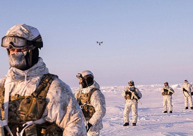 俄罗斯军队在北极
