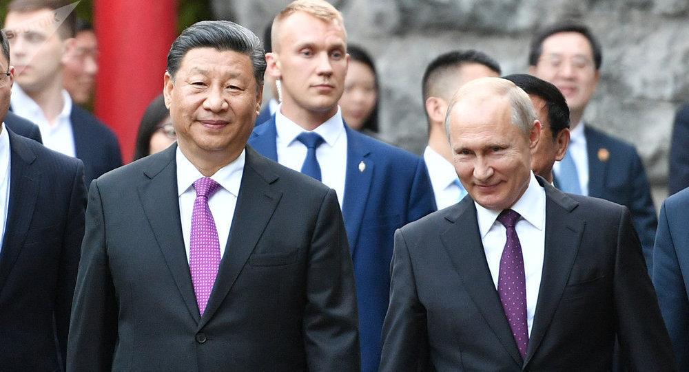 俄中两国是不可替代的战略合作伙伴