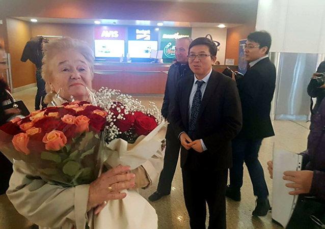 """中国成立70周年庆祝活动给""""友谊勋章""""获得者库利科娃留下深刻印象"""