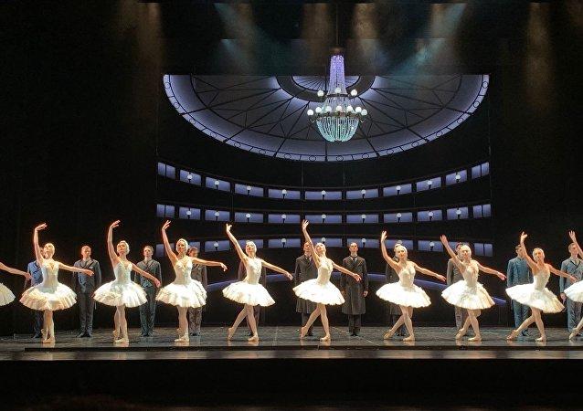 俄阿斯特拉罕芭蕾舞团