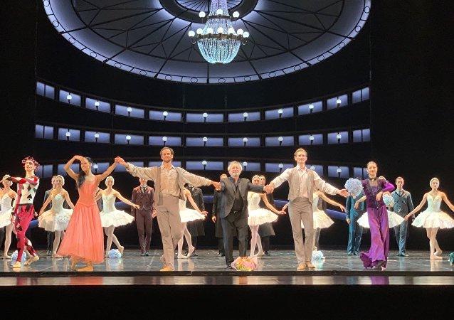 艾夫曼芭蕾舞团首次在京上演《柴可夫斯基》