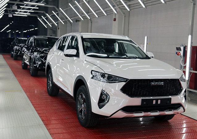 """在俄外国汽车企业中""""哈弗""""公司率先恢复组装生产"""