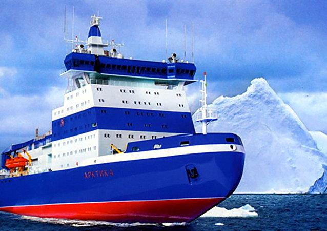 """""""北极""""号核动力通用破冰船"""