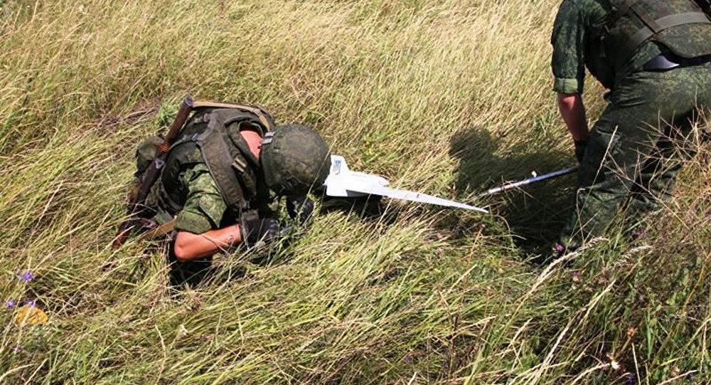 卢甘斯克人民共和国称击落乌克兰安全部队侦察欧安组织巡视顿巴斯的无人机