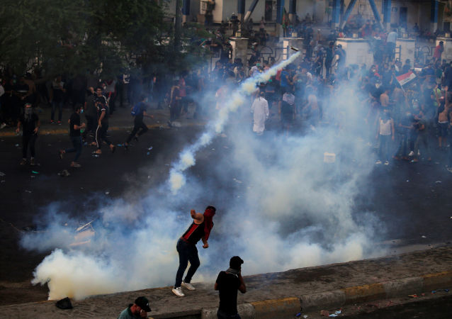 伊拉克抗议活动造成死亡人数增加至65人